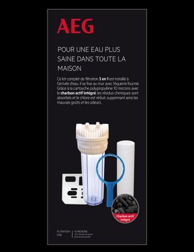 Kit de filtration complet eau de boisson