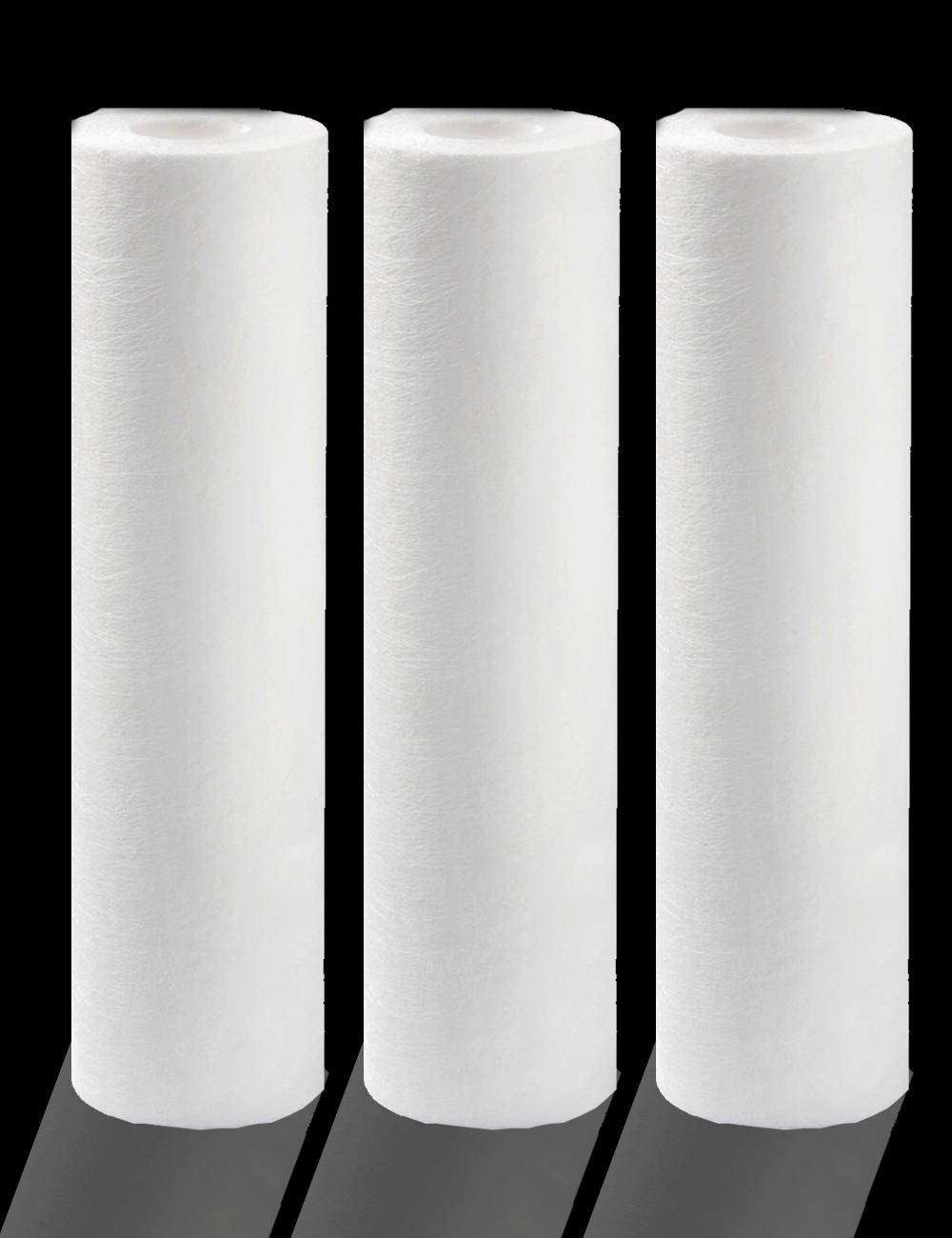 Pack de 3 cartouches filtration anti-sédiments